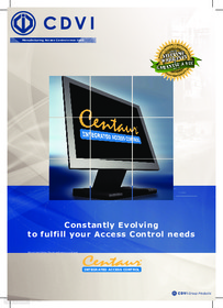 Centaur Integrated Access Control CTV900A