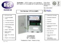 RGL CP12-4 data sheet