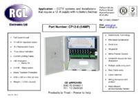 RGL CP12-8 data sheet