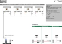 CVK Wiring Diagram 1 call button calling 4 monitors, 1 entrance (with keypad)