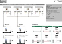 CVK Wiring Diagram 1 call button calling 4 monitors, 2 entrances (FULL DIAGRAM)