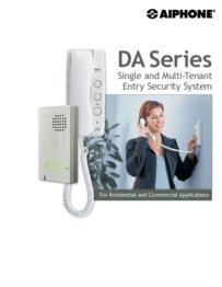 Aiphone DA Series brochure