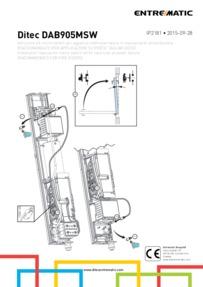 Ditec Microswitch Kit Installation Manual