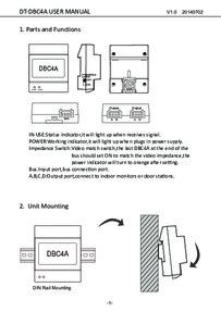 CDVI CDV-DBC4A instruction manual