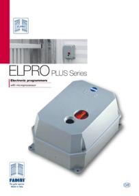 BPT Fadini ELPRO programmers brochure