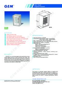 DG-15LD Keypad Brochure
