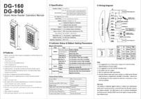 DG-800 Installation Instructions