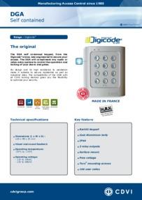 DGA Keypad brochure