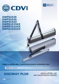 CDVI Digiway Plus Manual