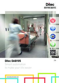 Ditec DAB105 brochure
