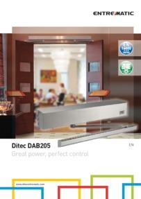 Ditec DAB205 brochure