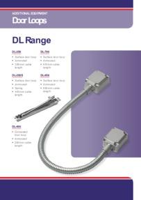 DL350 Door Loop data sheet