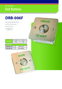 DRB6F-PTE data sheet
