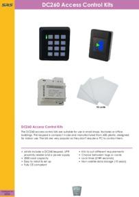 SRS - DC260 Kits - Datasheet - Feb 2018
