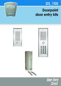 SRS - Doorpoint Vandal Resistant audio kits brochure