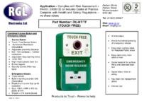RGL DU-NT/TF data sheet