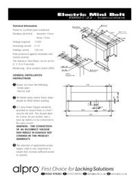 EB501 Instructions Jul07