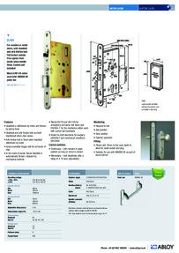 Abloy EL520 feature sheet