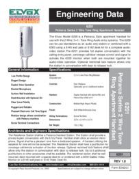 Elvox 6201 brochure