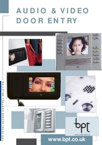 BPT Entry Panels and Monitors Brochure