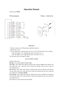 EPX-20 User Manual