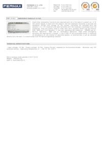 Fermax 1021 data sheet