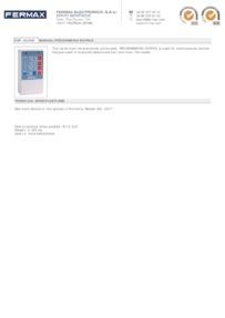Fermax 2306 data sheet