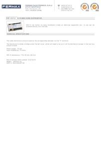 Fermax 2419 data sheet