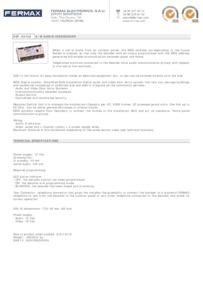Fermax 2426 data sheet