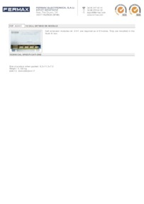 Fermax 2441 data sheet