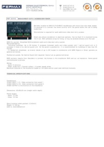 Fermax 2443 data sheet