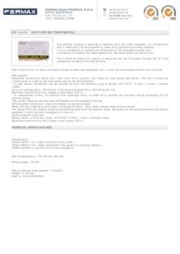 Fermax 2450 data sheet