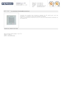 Fermax 2466 data sheet