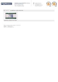 Fermax 02472 data sheet