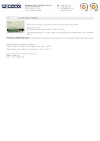 Fermax 4479 data sheet