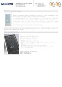 Fermax 4530 data sheet