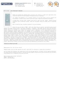 Fermax 4560 data sheet