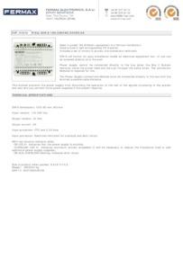 Fermax 4840 data sheet