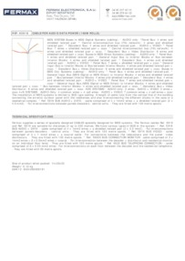 Fermax 5918 data sheet