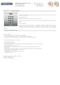 Fermax 6991 data sheet