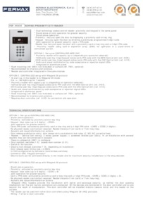 Fermax 6995 data sheet