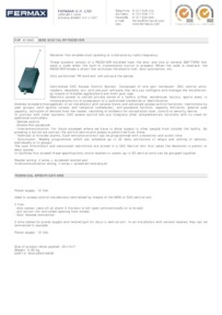 Fermax 1065 data sheet
