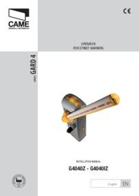 Gard 4 Installation Manual