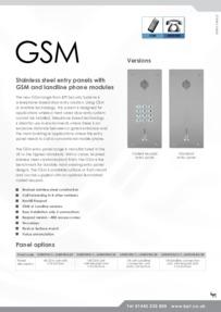 BPT Vandal Resistant GSM & Landline kits Brochure