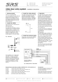 Instructions for 9008V2 video power supply using old AN7270S monitors