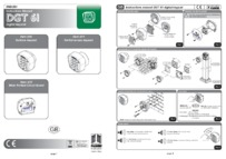 BPT Fadini DGT 61 installation instructions