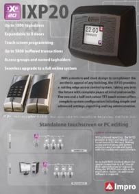 BPT Impro IXP20 brochure