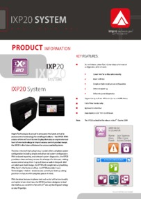 BPT IXP 20 'stand alone' access control sales information
