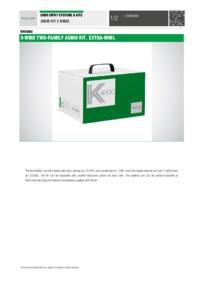Comelit KAE5062 data sheet