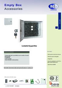 RGL KP-LOCKBOX feature sheet